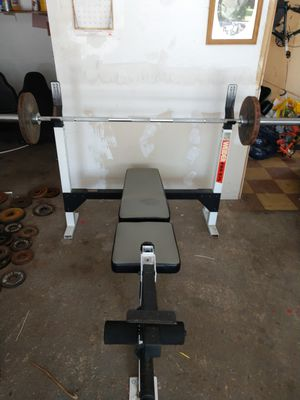 Weider Pro 875 Olympic weight bench for Sale in Seaford, NY