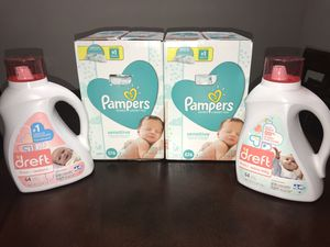 Pampers and Dreft Baby Products for Sale in Atlanta, GA
