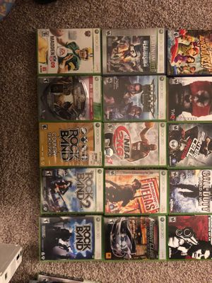Xbox 360 games for Sale in Spokane Valley, WA