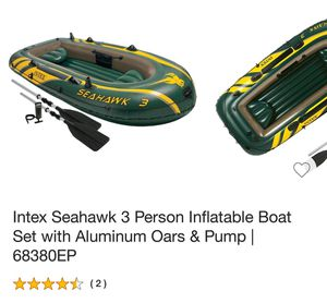 Inflatable boat for Sale in Dallas, TX