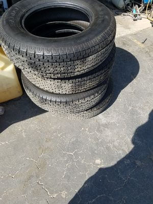 TRAILER TIRES 205/75/14 for Sale in Fresno, CA