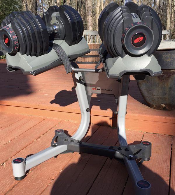 Bowflex SelectTech Dumbbells w/STAND ( 5-52 lbs. )