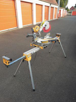 DeWalt 12 inch Flexvolt dual bevel Miter saw for Sale in Portland, OR