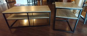 Two-tiered coffee table and end table. for Sale in Vienna, VA