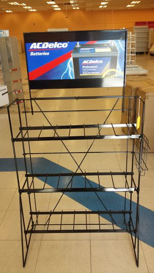 BRAND NEW IN BOX WIRE BATTERY STAND for Sale in Nashville, TN