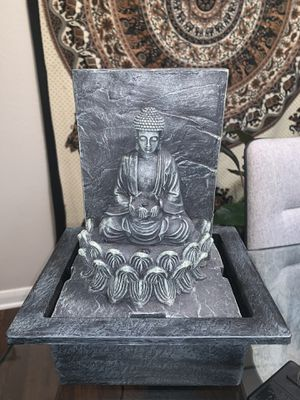 Buddha Water Fountain for Sale in Fort Collins, CO