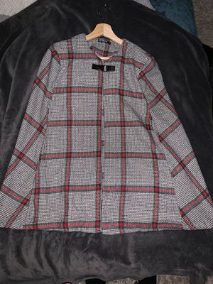 Poncho, clothing, coat, plaid for Sale in Alta Loma, CA