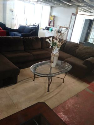 Large sectional couch for Sale in Forest Park, GA