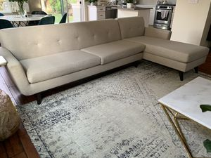 Sectional couch - Made In USA, Lifetime Warranty for Sale in San Jose, CA