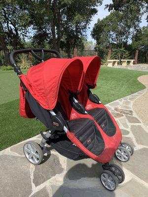Britax double twin stroller for Sale in Los Altos, CA