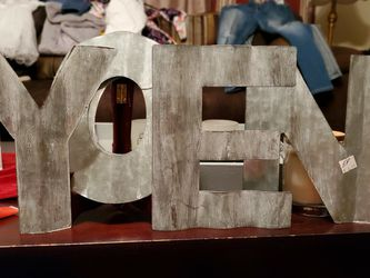 Metal Letters Bundle for Sale in Meridian,  MS