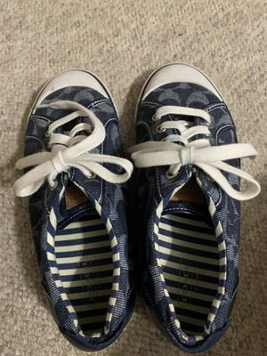 Coach tennis shoes for Sale in Laurel, MD