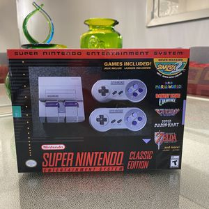 Super Nintendo Classic Edition for Sale in Fairfax, VA