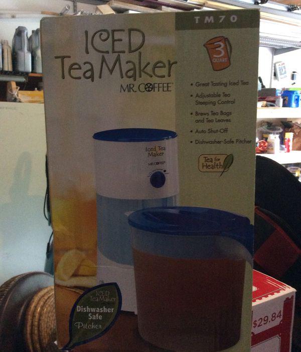 MR. COFFEE Iced Tea Maker 3 qt. NEW IN BOX