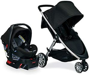 NEW BRITAX B-Lively Travel System with B-Safe Ultra Infant Car Seat for Sale in Sacramento, CA