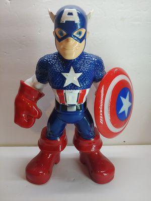 Marvel's talking light-up Captain America Hasbro 2011 for Sale in Santa Ana, CA