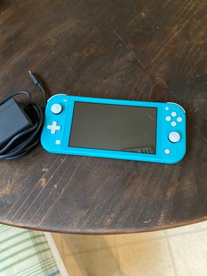 Nintendo switch lite. Blue. W/ charger. for Sale in Federalsburg, MD