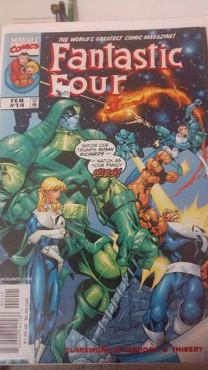 Fantastic four direct edition Feb 14 for Sale in Brandon, FL