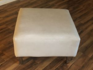 Leather foot stools for Sale in Wesley Chapel, FL