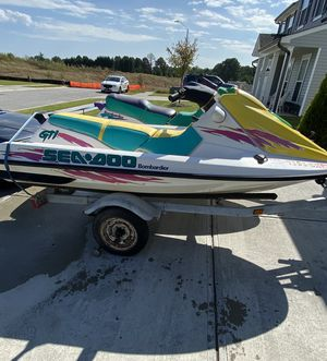 Sea-Doo Bombardier Jet Ski's w/trailer for Sale in Fuquay-Varina, NC