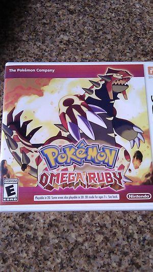 Pokemon Omega Ruby Nintendo 3DS for Sale in Escondido, CA