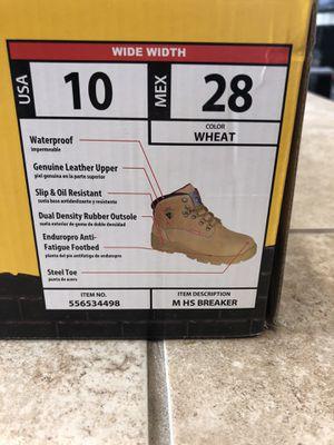 Steel toe work boots for Sale in Bakersfield, CA