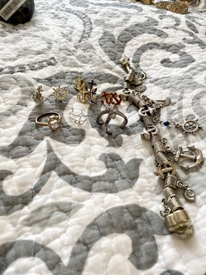 Nautical / anchor / beach jewelry bundle set for Sale in Waltham, MA