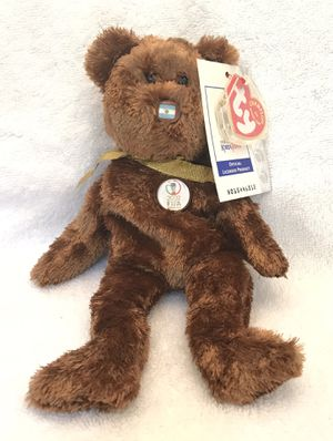 2002 FIFA ty beanie baby Argentina 🇦🇷 soccer ⚽️ bear 🐻 for Sale in Roswell, GA