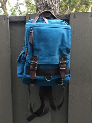 Canvas Travel Backpack Purse Rucksack One Strap Sling Cross body Messenger Bag for Sale in Hawthorne, CA