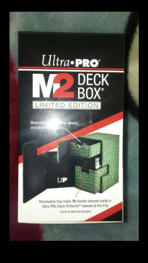 Ultra pro deck box m2 for Sale in Stanton, CA