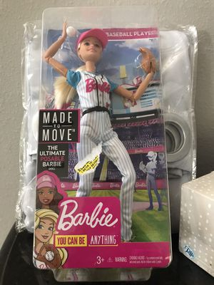 Baseball Barbie new for Sale in Auburndale, FL