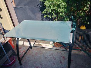 Glass top desk for Sale in Anaheim, CA