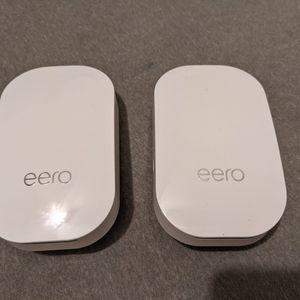 2 Eero Beacon Mesh WiFi for Sale in Los Angeles, CA