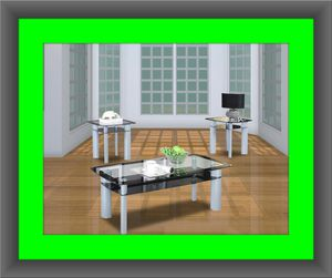 3pc glass coffee table for Sale in Crofton, MD