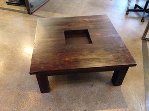 Dark wood coffee table for Sale in Dallas, TX