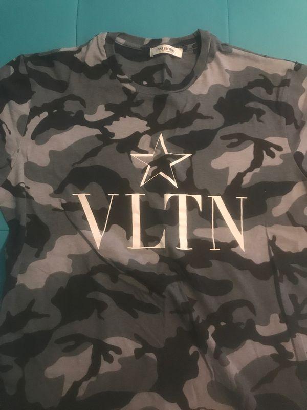 Valentino Camo shirt size M