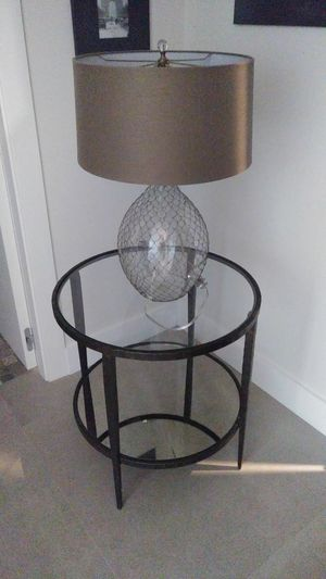 Table and Lamp for Sale in Miami Beach, FL