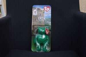 """Erin"" The Bear Ty beanie babies W/error for Sale in Naples, FL"