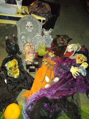 Lot of Halloween items for Sale in Honolulu, HI
