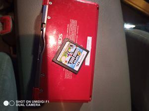 Red Nintendo 3DS Original With Super Mario Bros for Sale in Sacramento, CA