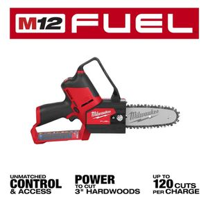 Milwaukee 2527-20 M12 FUEL HATCHET 6-Inch Pruning Saw, Tool Only for Sale in Medford, MA