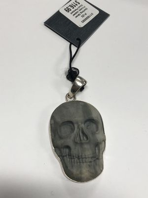 Charles Albert Silver and Howlite Skull Charm for Sale in Los Angeles, CA