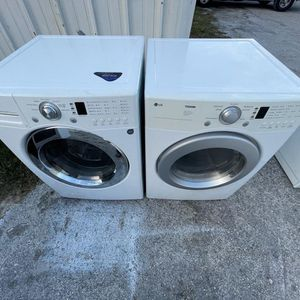 Lg Washer And Dryer / delivery Available for Sale in Tampa, FL