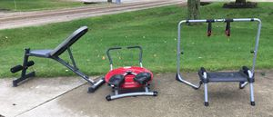 Exercise equipment 20$ 3 items pickup only for Sale in Bloomfield Hills, MI