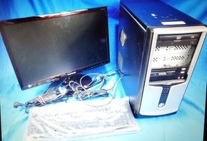 """21.5"""" Samsung LED Monitor Intel D915GAV Desktop PC Computer Used for Sale in Chicago, IL"""