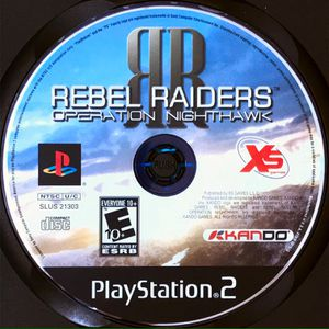 Rebel Raiders: Operation Nighthawk PS2 Game for Sale in Pahrump, NV