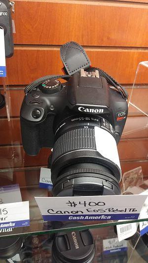 Canon EOS Rebel t6 for Sale in Chicago, IL