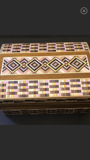 Beautiful wooden box made in USSR 5*4 inches for Sale in Miami, FL