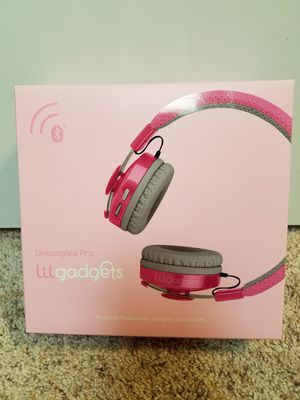 LilGadgets Untangled Pro Premium Kids Wireless Bluetooth Headphones wi for Sale in Garland, TX