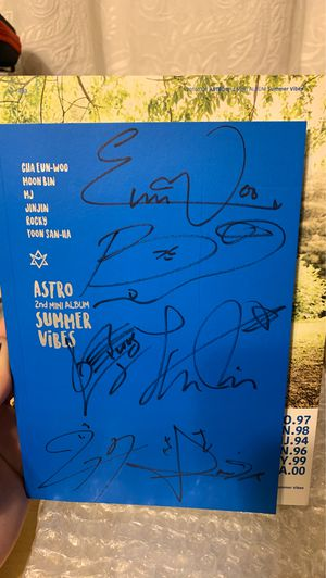 Kpop Signed Astro 'Summer Vibes' 2nd Mini Album for Sale in Laredo, TX